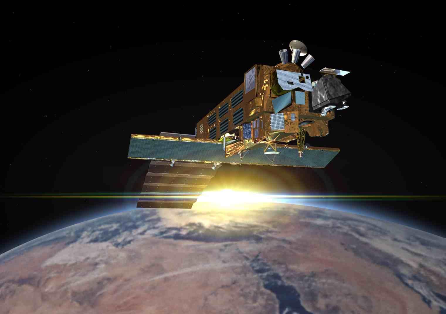 DORIS satellite: ENVISAT