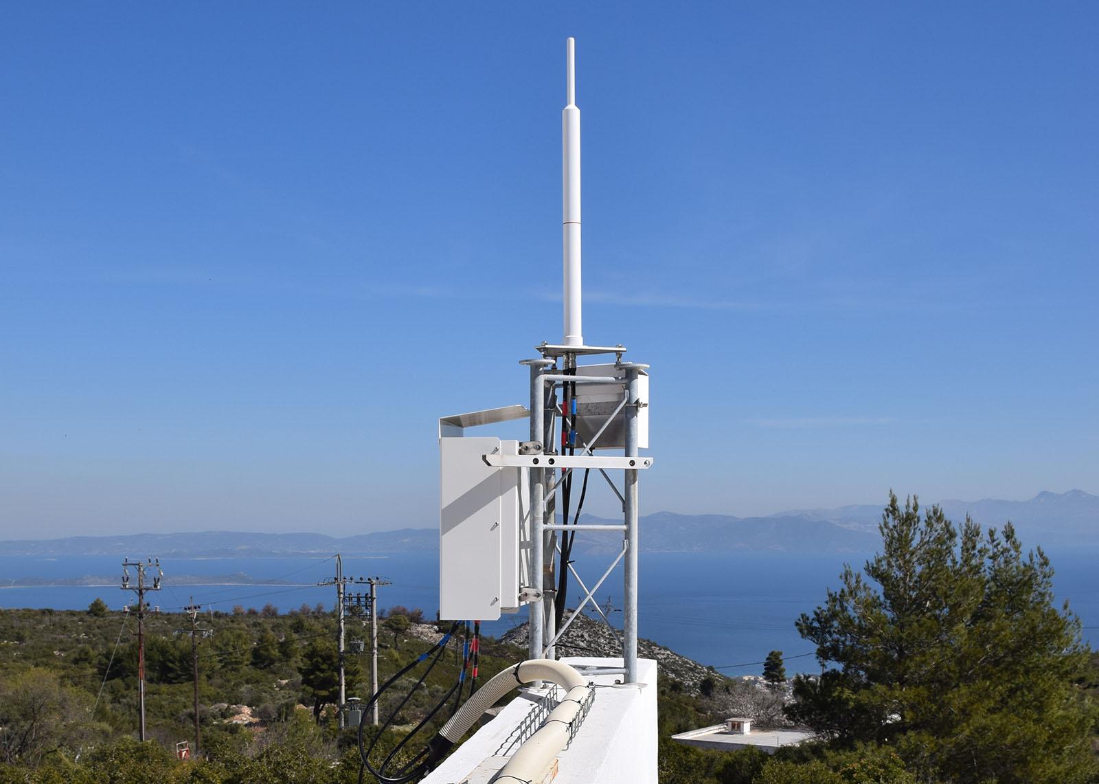 DORIS station: DIONYSOS - GREECE