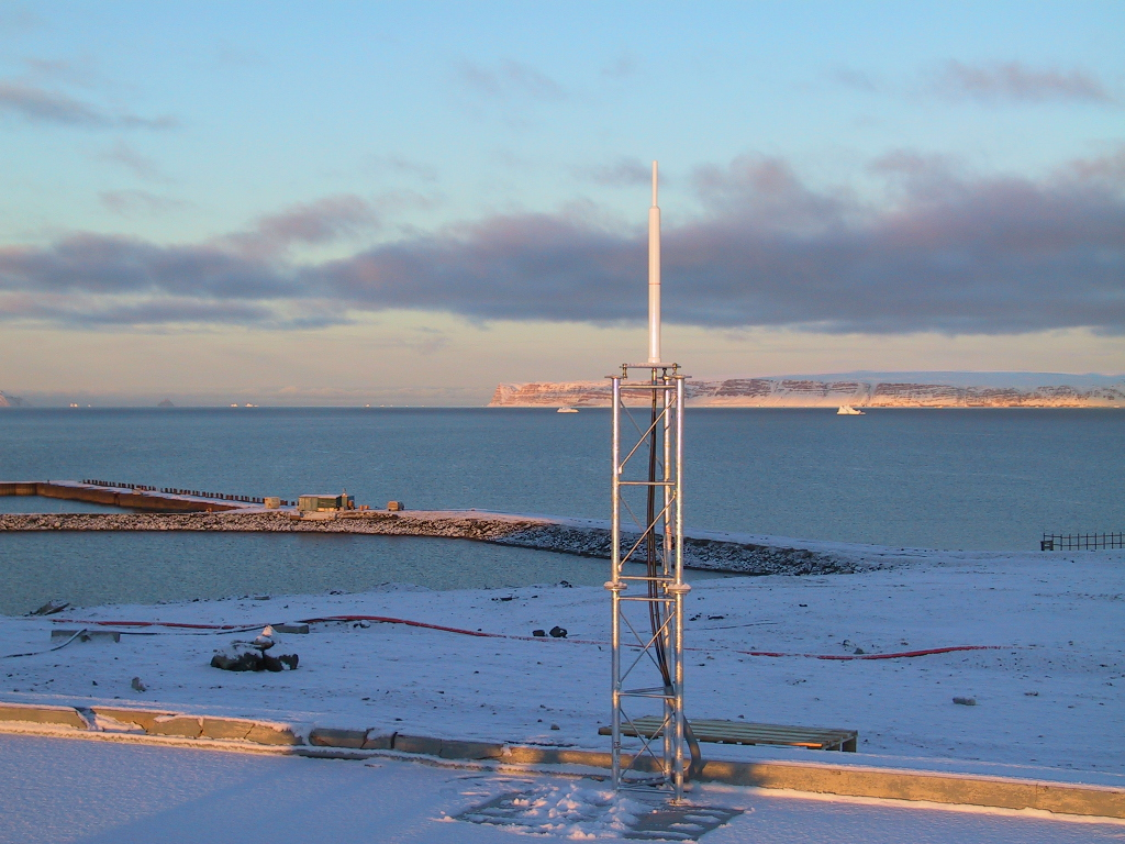 DORIS station: THULE - DENMARK (Greenland)