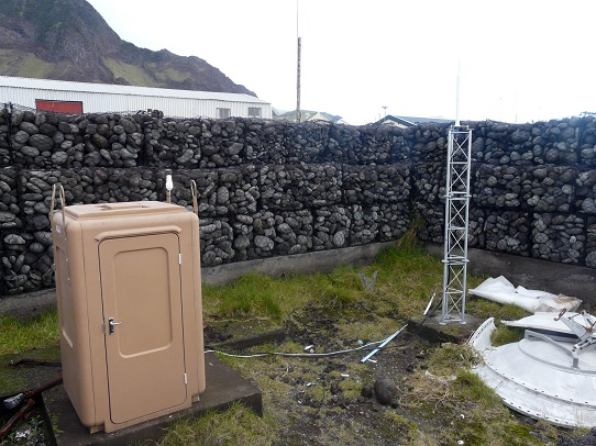 DORIS station: TRISTAN-DA-CUNHA - UNITED KINGDOM (South Atlantic Ocean)